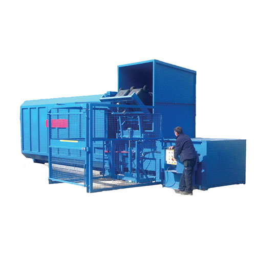 Static Compactor Recycling Machine