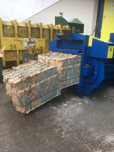 Waste management machines