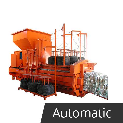 TROJAN 800 V5 Baling Machine